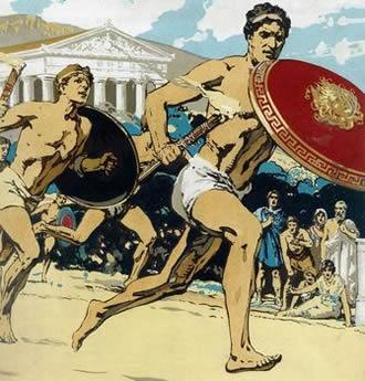 Самый первый вид спорта в олимпийских играх