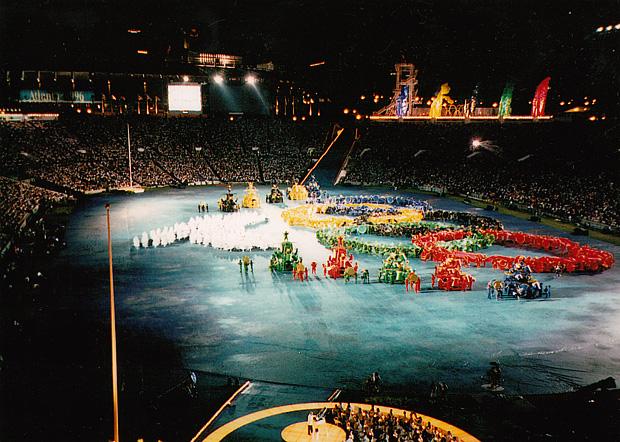XXVI летние Олимпийские игры церемония открытия