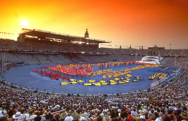 Год открытия олимпийских игр