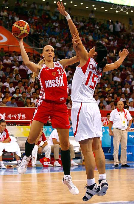 2008 russian womens basketball team
