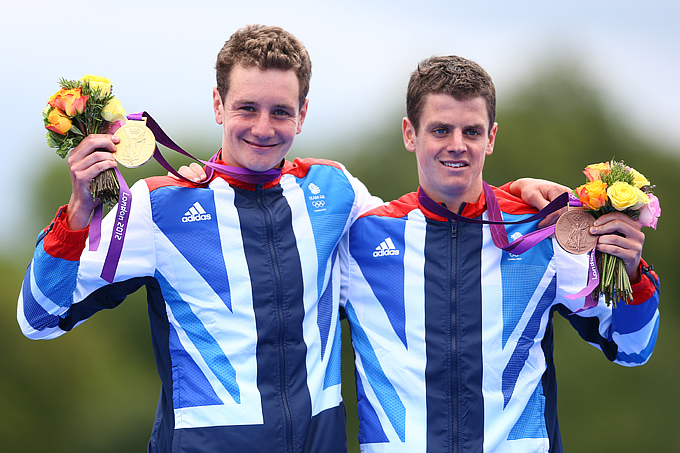 Алистер Браунли и Джонатан Браунли Alistair Brownlee and Jonathan Brownlee