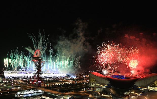 Церемония закрытия XXX летних олимпийских игр в Лондоне