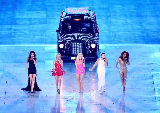 Spice Girls церемония закрытия лондон 2012