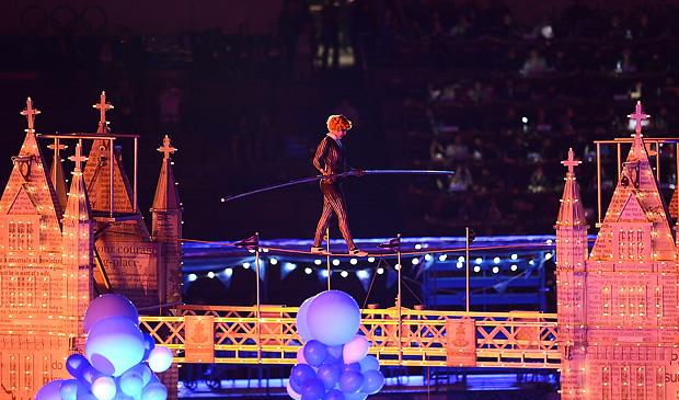 Лондонская олимпиада черемония закрытия