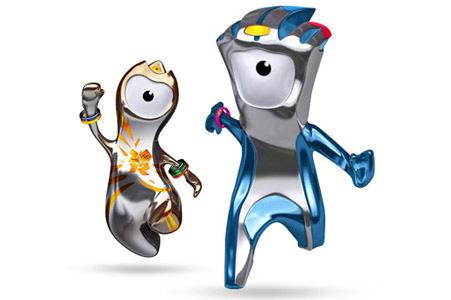 Венлок и Мандевиль талисманы олимпийских игр 2012 в Лондоне