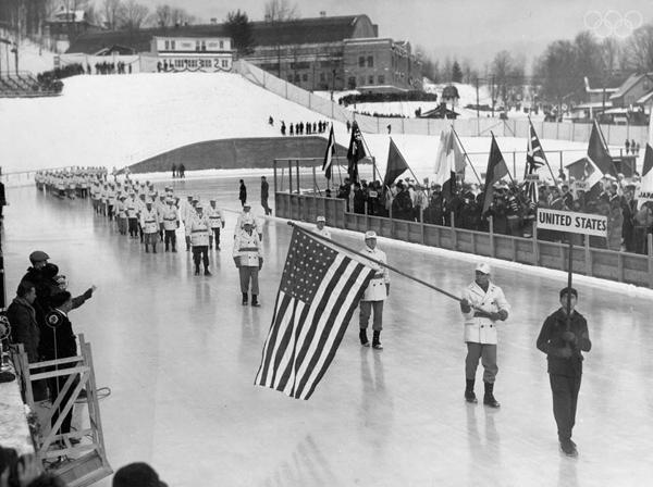 Открытие Олимпийских игр 1932