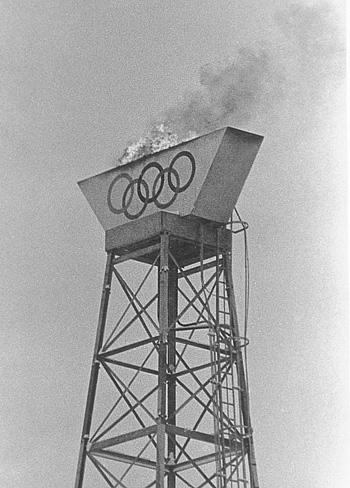 Первый олимпийский огонь