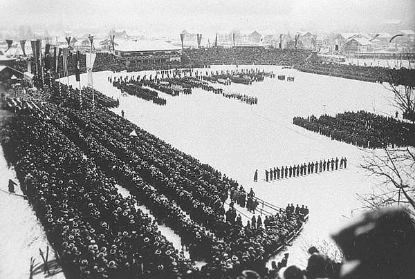 Церемония открытия Олимпийских Игр 1936