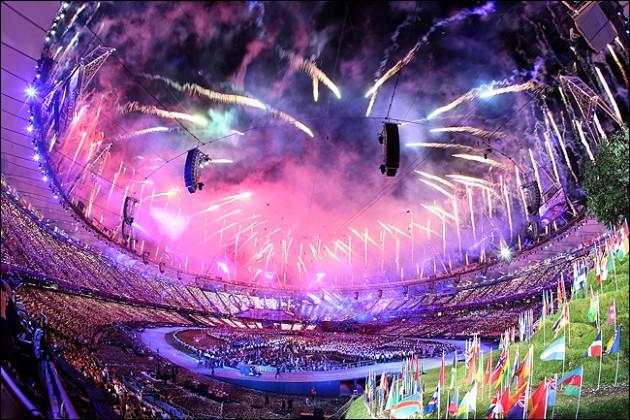 церемония открытия олимпиады в лондоне