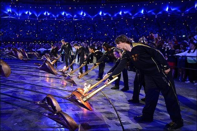30 летние олимпийские игры церемония открытия