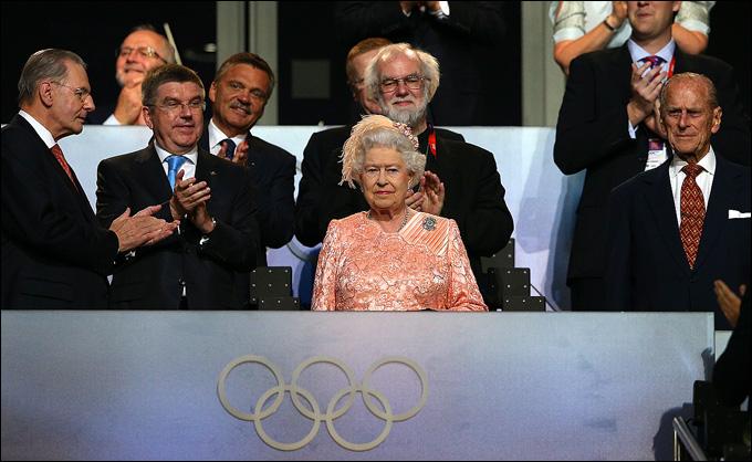 Елизавета II Олимпийские игры