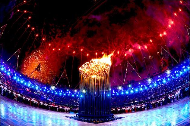 Олимпийский огонь Лондонская олимпиада