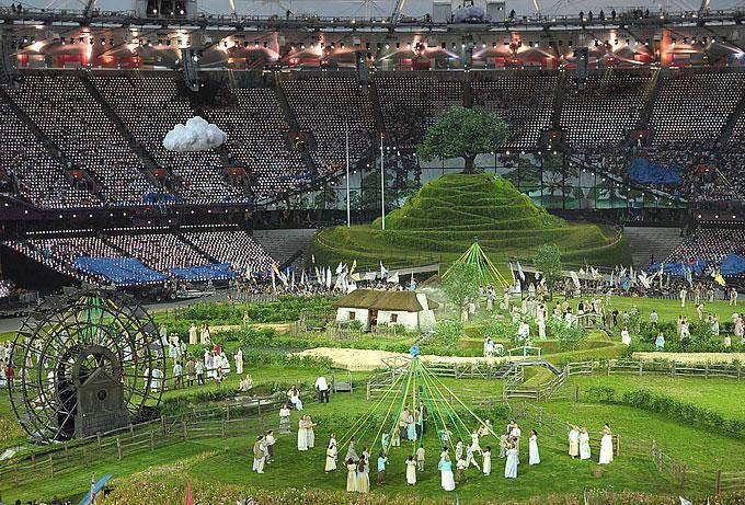 церемония открытия олимпийских игр 2012
