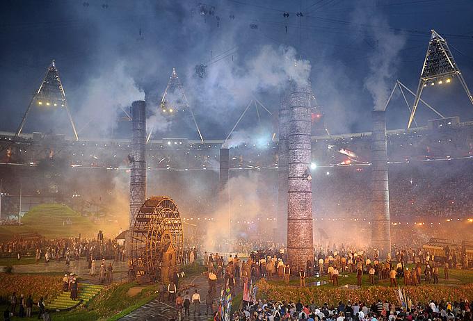 XXX летние олимпийские игры церемония открытия
