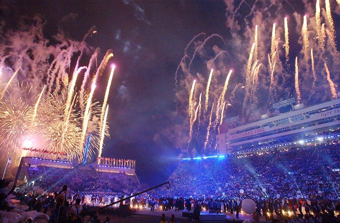 Церемония закрытия XIX зимних Олимпийских игр фото