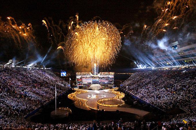 Церемония открытия Солт-Лейк-Сити 2002