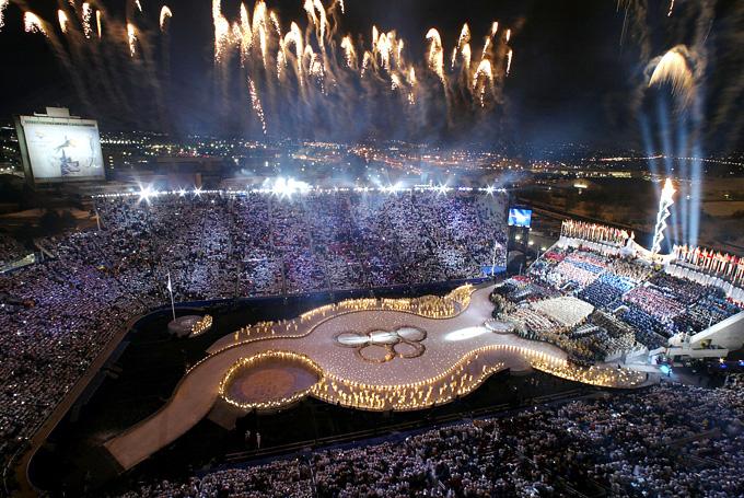 Солт Лейк Сити История Олимпийских игр Церемония открытия xix зимних Олимпийских игр