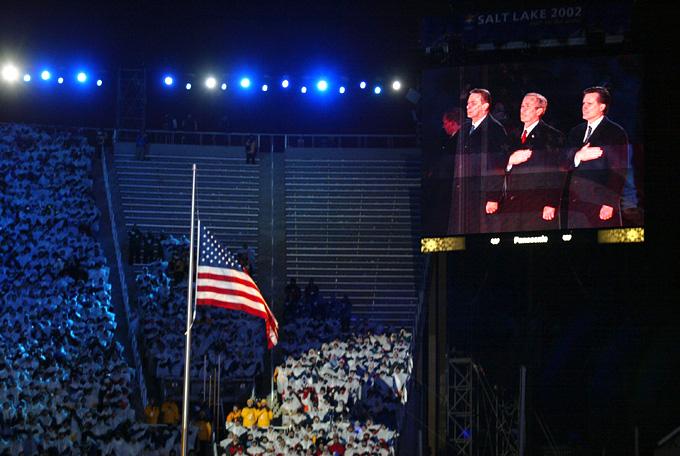 Церемония открытия зимней Олимпиады 2002 фото