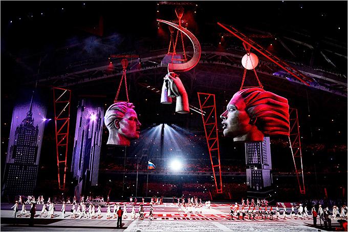 Сочи История Олимпийских игр Открытие Олимпиады в Сочи