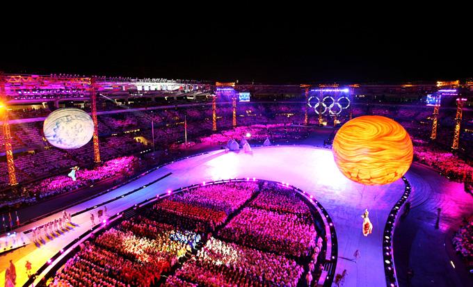 Церемония открытия Олимпиады 2006 в Турине